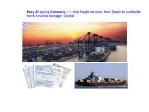 Consolidate Forwarder for Cargo From Tianjin to U. S/Canada/Mexico Shipping