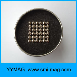 Sphere Shape Neodymium Magnetic Ball 5mm Neo Cube pictures & photos