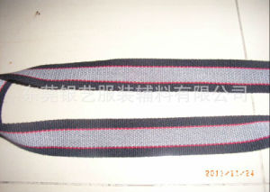 Three-Color 38mm Bead Pattern Cotton Ribbon for Waistband (097) pictures & photos
