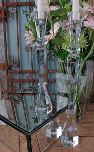 "19"" Crystal Tower Candlesticks Gift for Home Decoration pictures & photos"