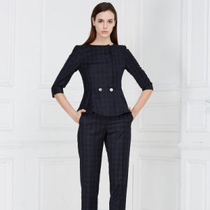 china good quality ladies office wear lady suit design china women