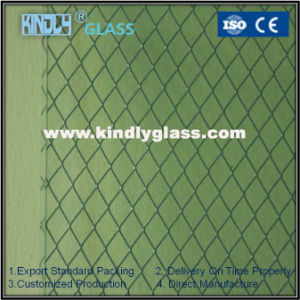 Wired Laminated Glass with Aluminium Net