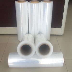 Pallet Wrap Hand Machine LLDPE PE Stretch Film pictures & photos
