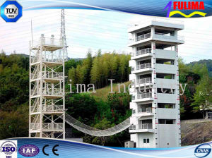 Double Steel Training Tower for Fire Bridge pictures & photos