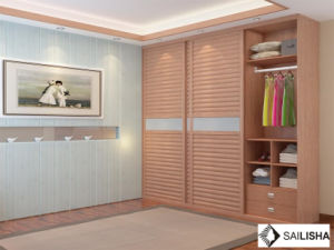Modern Spain Home Bedroom Hotel Furniture Wood Closets Wardrobe pictures & photos