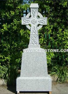 Grey Granite Cross Tombstone / Headstone / Monument pictures & photos