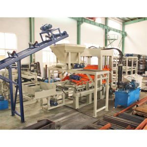 Fully Automatic Conrete Paving Block Machine (QT10-15) pictures & photos