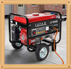 2800W Silent Small LPG and Gasoline Generator for Sale