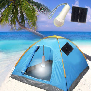 Portable Solar LED Torch Solar Powered Camping Lamp (EB-89594) pictures & photos