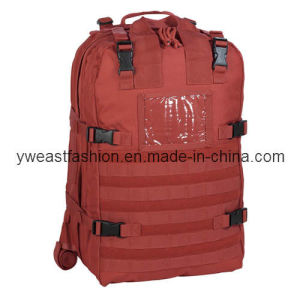 Shiny Relective First Aid Bag Emergency Bag Backpack Sports Bag Outdoor Bag Military Bag