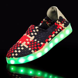 2017 Hot Sell Yeezy Boot Model Sels663 LED Luminous Light up Shoes for Adults pictures & photos
