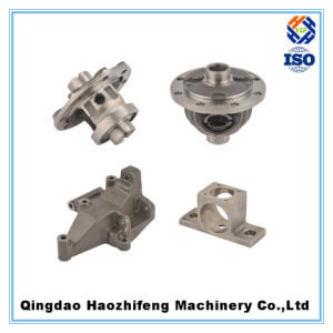 Aluminum Sand Casting 3 Way Valve pictures & photos