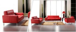 2016 Modern Leather Sofa Set Jfs-25