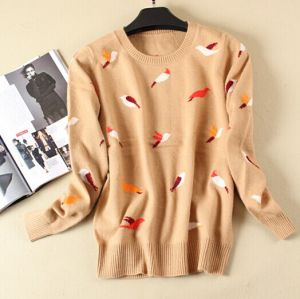 Ladies′ Jacquard Knitted Fashion Sweater