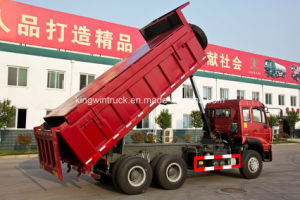 6X4 Driving Type 25tons Covering Dump Truck