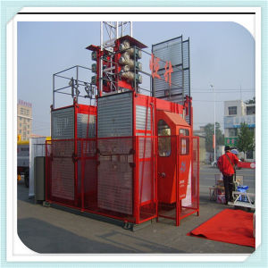 Ce Approval Hsjj 2 Ton Construction Elevator Cage Lift pictures & photos