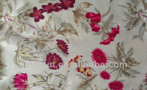 100% Polyester Printed Micro Suede Fabric for Sofa