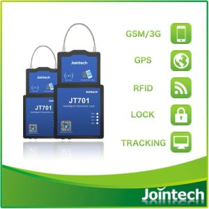 Container Lock Electronic GPS Tracker with RFID Driver ID Card pictures & photos