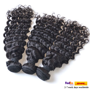 Wholesale Bundles Unprocessed Brazilian Virgin Human Hair Weaving Hair pictures & photos