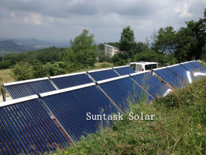 Vacuum Tube Pressurized Solar Collector with En12975, Solar Keymark for Europe Market pictures & photos