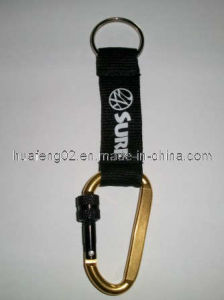 Black Lanyard With Carabiner