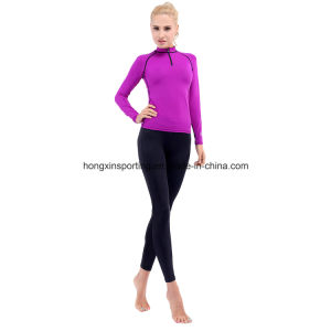 Two-Piece Lycra Rash Guard, Swimwear, Yoga Sports Wear pictures & photos