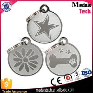 OEM New Design Round Shape Pet Footprints Metal Pet Tags pictures & photos