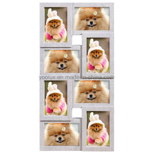 Plastic Multi Openning Collage Home Decoration Photo Frame
