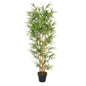 Artificial Bamboo Plants with Pot