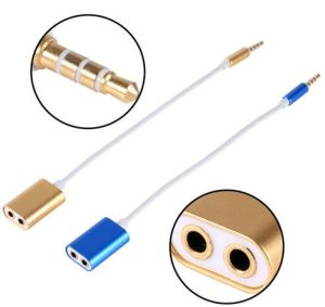 3.5mm Male to 2 Female Audio Headphone Splitter Cable Adapter pictures & photos