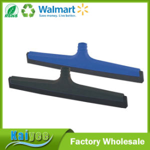 Plastic Handle Water Scraper Window Wiper with Squeegee Rubber pictures & photos