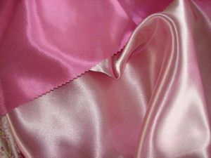 Polyeste Bridal Satin Fabric for Wedding Dress/Lining pictures & photos
