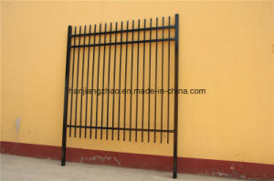 Powder Coated Pre Galvanized Spear Top Security Garrison Fencing pictures & photos