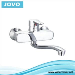 China New Model Single Handle Wall Mounted Kitchen Mixer Faucet