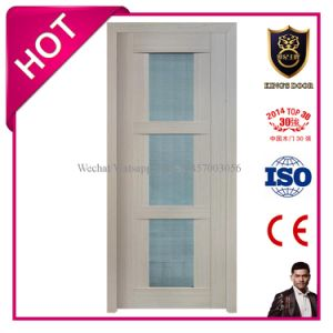 Luxury Style Solid MDF Glass Door for Bathroom pictures & photos