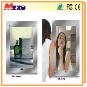 Magic Mirror with Single Sided Backlit LED Llight Box pictures & photos