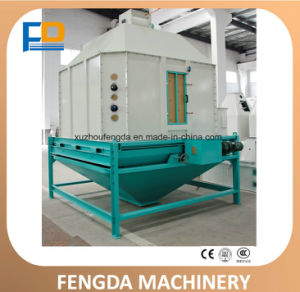 Customized Livestock Cost-Effective Pellet Feed Counter Flow Cooler for Feed Machine