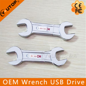 Custom Metal Wrench USB Flash Drive Maintenance Promotion Gift (YT-1260)