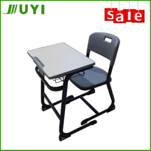 Jy-S113 Plywood Classroom School Desk and Chair for Kids pictures & photos