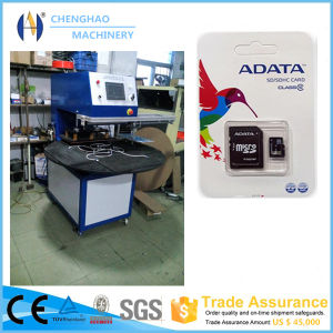 CH-3280 Small Automatic Micro SD Card Blister Pack Machine/Blister Sealing Machine