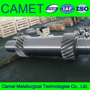 S45c Gear Shaft and Gear for Gear Box pictures & photos