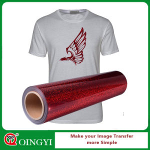 ddf2e6eab China Qingyi Nice Hologram Vinyl Heat Transfer for T-Shirt - China ...