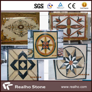 Direct Supplier Waterjet Marble Medallion for Flooring