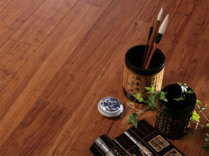 Engineered Bamboo Flooring Carbonized Strand Woven Surface pictures & photos