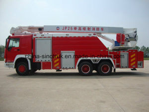 Professional Supply Aerial Ladder Aerial Platform Fire Fight Truck of 16-100meters pictures & photos