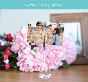 Crystal Wedding Table Decors Crystal Wedding Card Holders pictures & photos