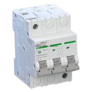 1p, 2p, 3p, 4p DC Non Polarized DC Circuit Breaker with TUV Certificate (1A - 63A) pictures & photos