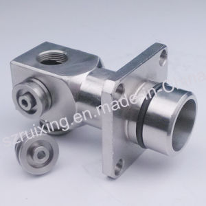 CNC Machining of Stainless Steel Metal Head