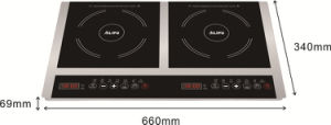2 Burners Induction Cooktop pictures & photos