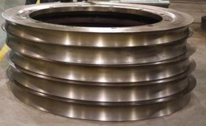 SEAMLESS STEEL PIPE Tubes PIERCING MILL Rolling mill Guide Discs Disks pictures & photos